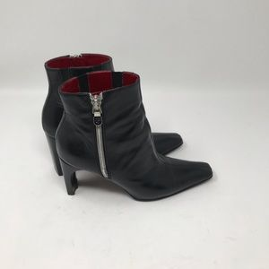 Donald J Pliner Black Ankle Boots Size 5.5 M